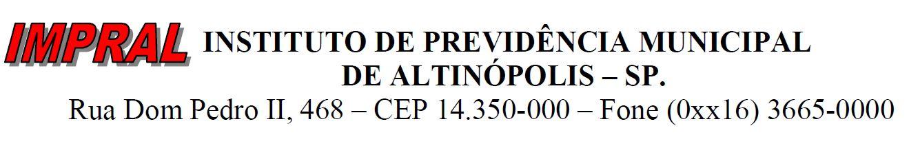 Impral – Instituto de Previdência Municipal de Altinópolis